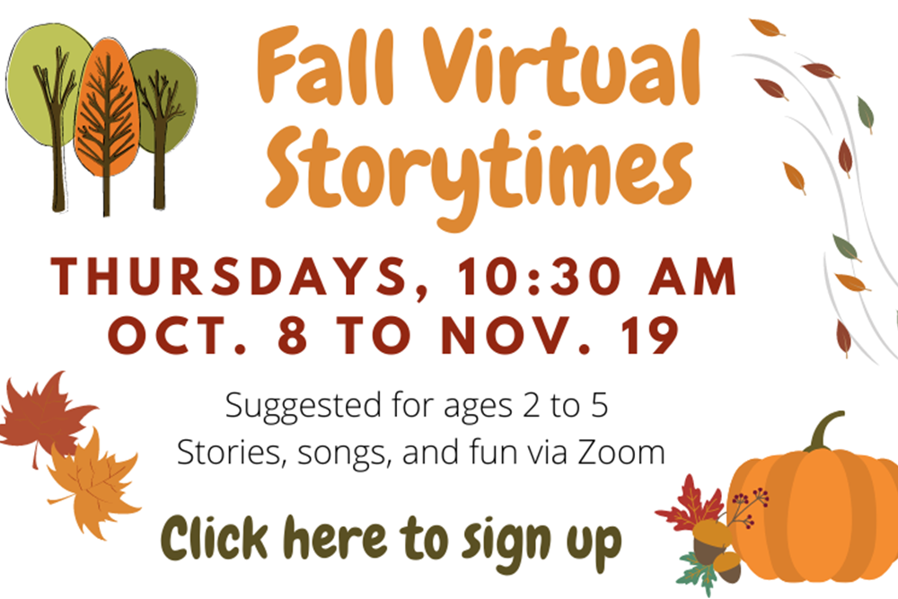 Fall Storytimes