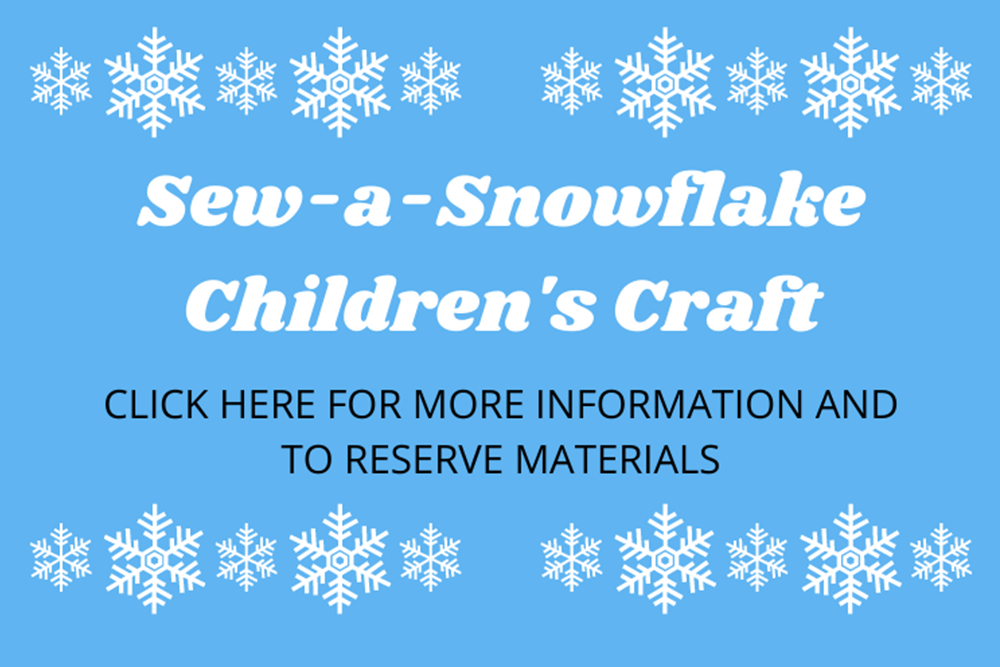 Sew-a-Snowflake Craft